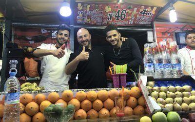 Jemaa el Fna principal atracción de Marrakech